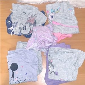 5) Disney Minnie Mouse toddler Girl outfits